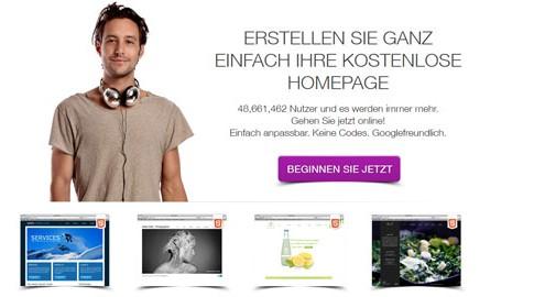Kostenlose-Homepage-wix